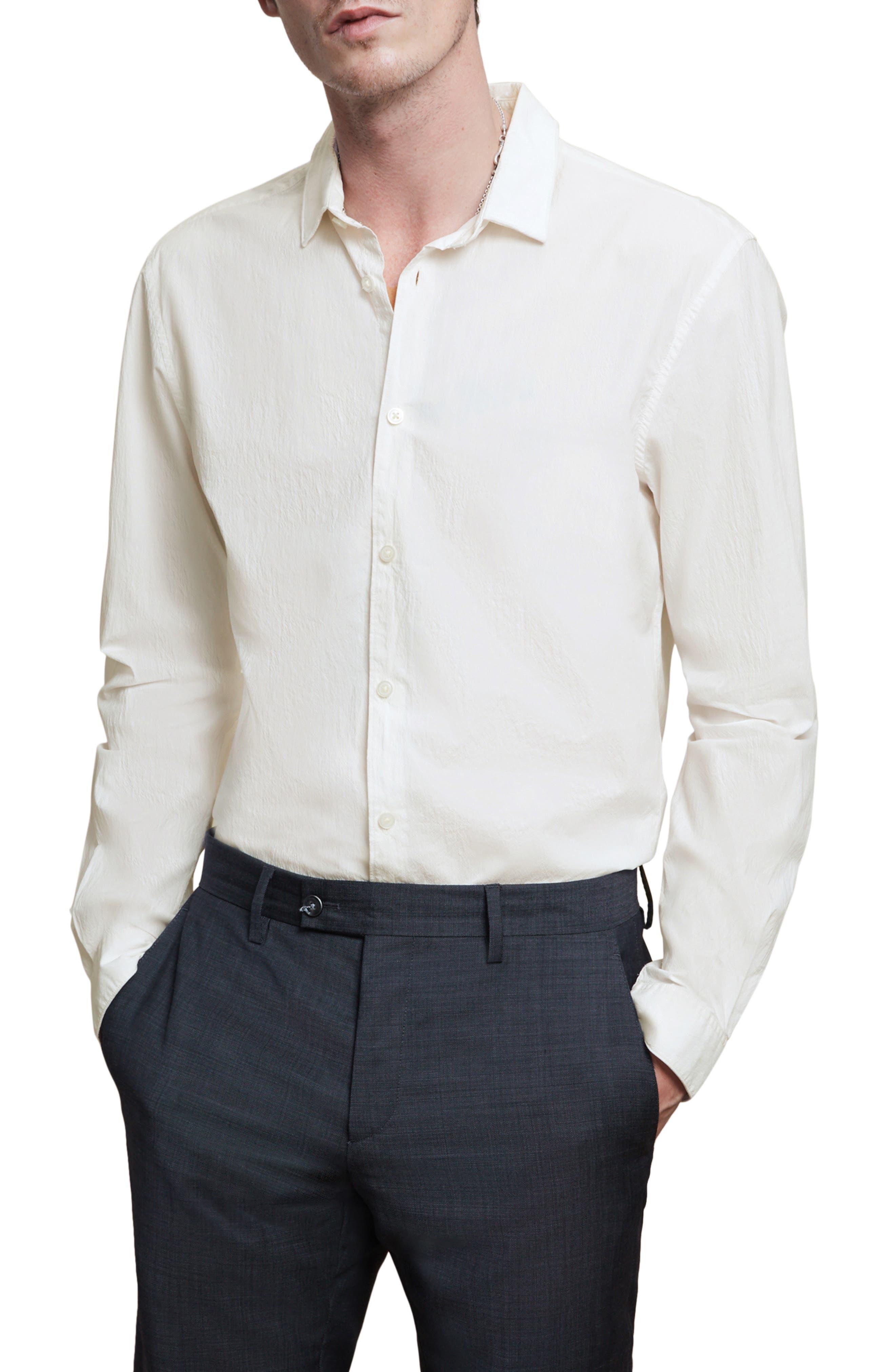 Ashten Clean Front Button-Up Shirt
