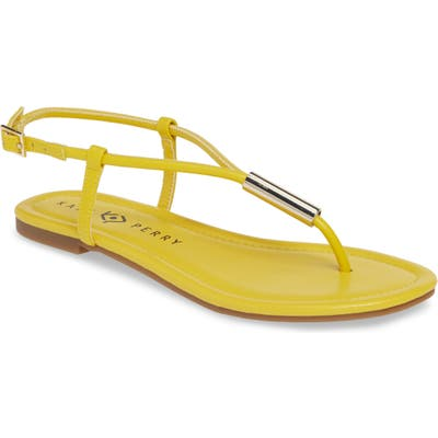 Katy Perry Jule Flat Sandal, Yellow