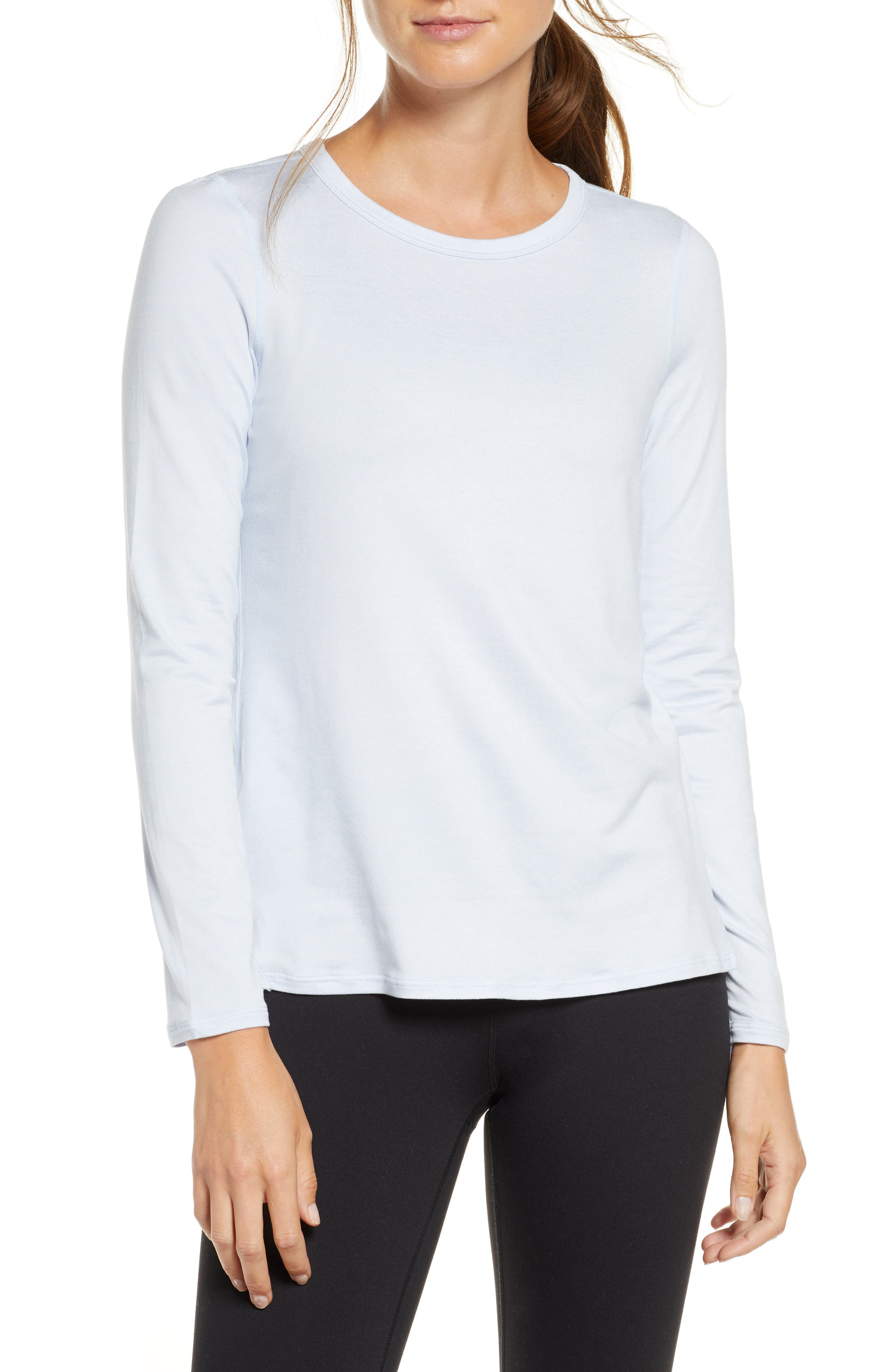 Zella Liana Long Sleeve Recycled Blend Performance Tee