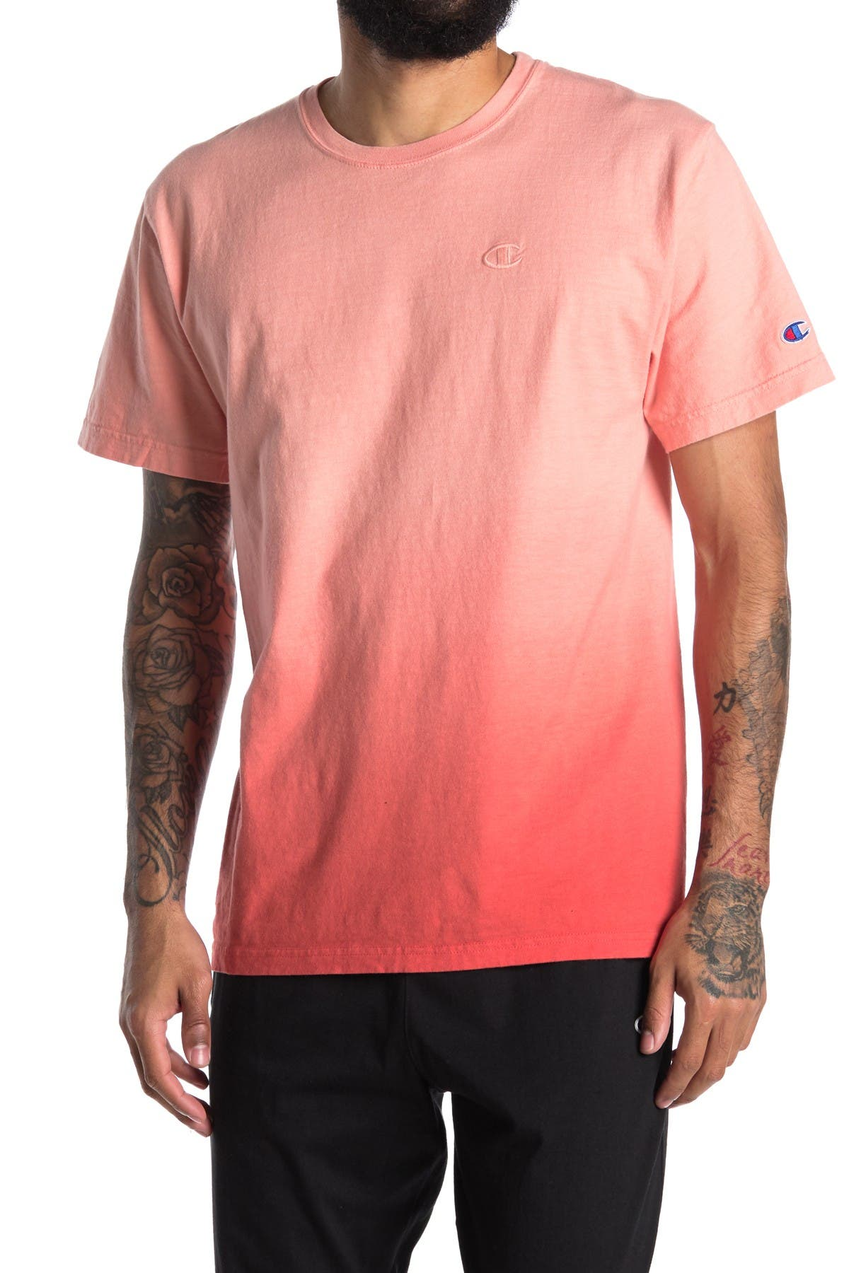 Image of Champion Classic Ombre Short Sleeve T-Shirt