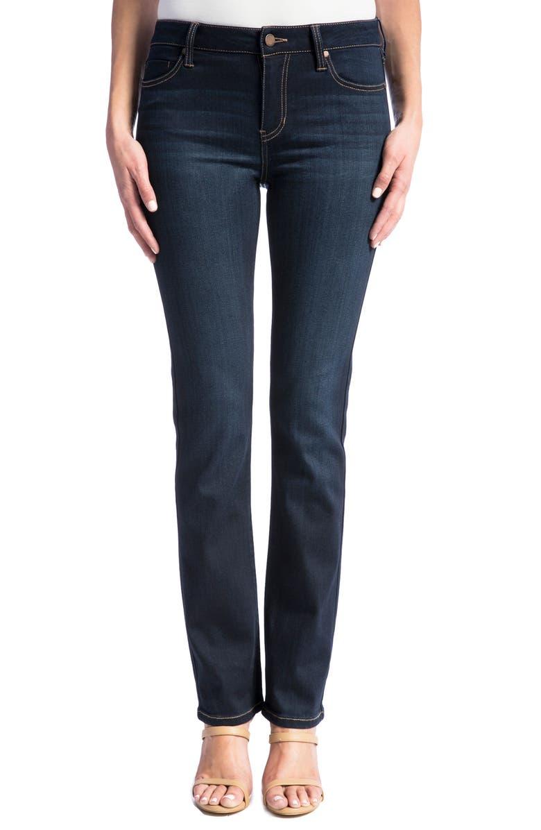 Liverpool Sadie Straight Jeans Regular Petite Stone Wash