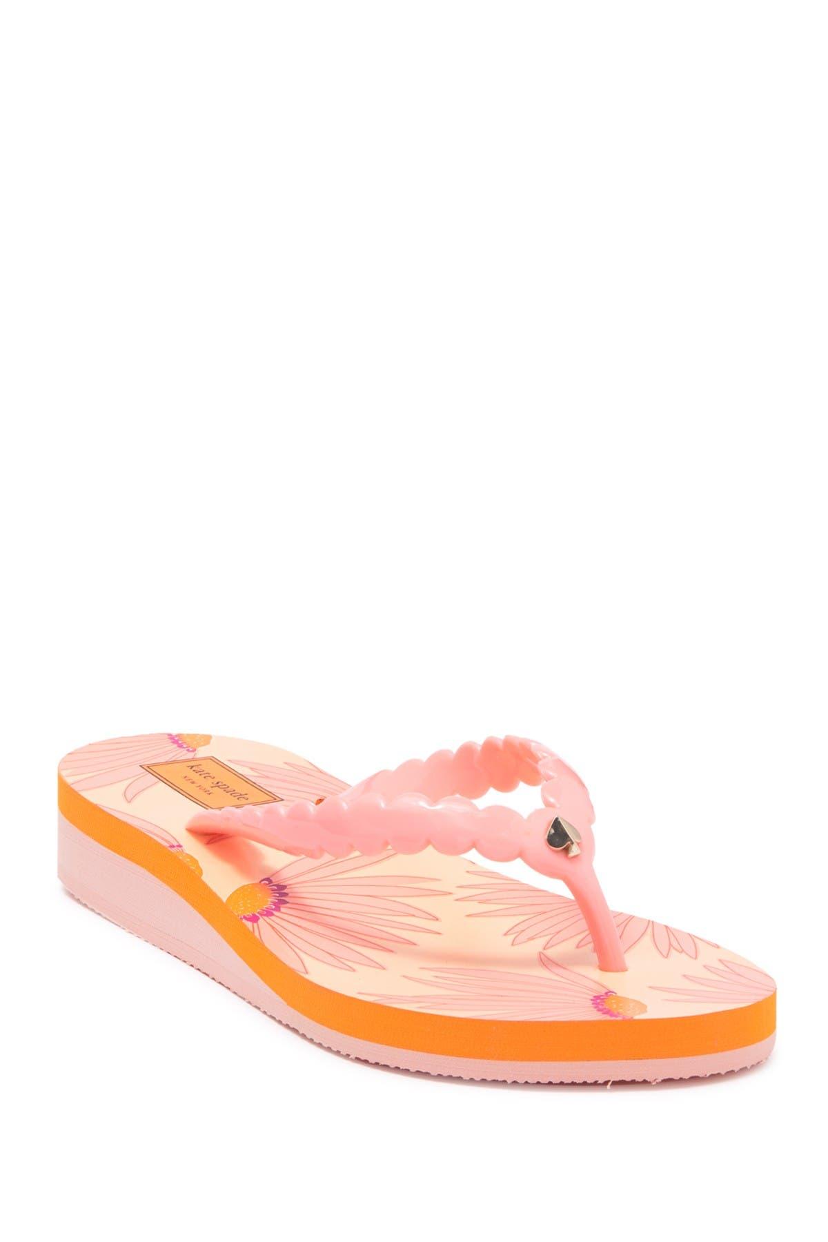 Image of kate spade new york malta platform flip flop sandal