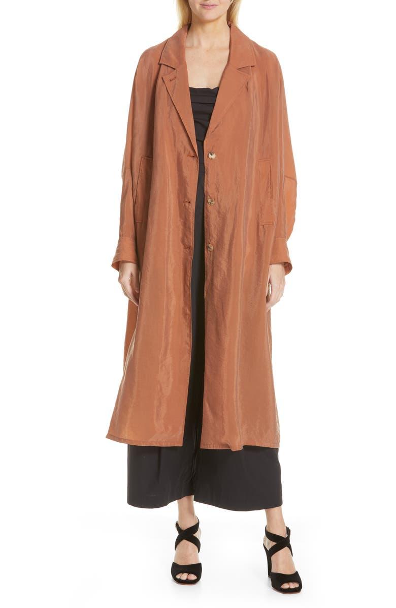 RACHEL COMEY Kilo Trench Coat, Main, color, COPPER