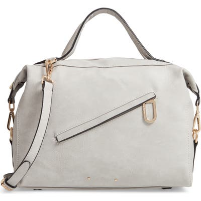 Urban Originals Chasing Rainbows Vegan Leather Satchel - Grey