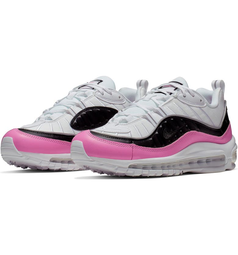 NIKE Air Max 98 SE Sneaker, Main, color, 100