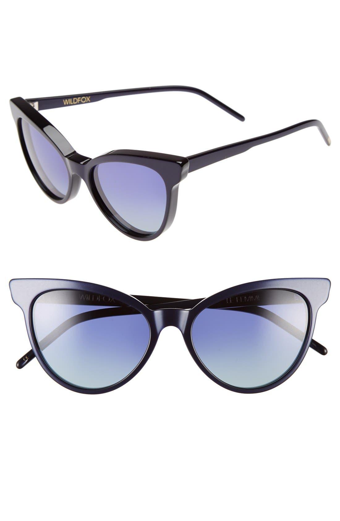 ,                             'La Femme' 55mm Sunglasses,                             Main thumbnail 14, color,                             400