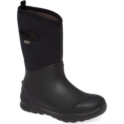 Bogs Bozeman Tall Waterproof Boot, Black