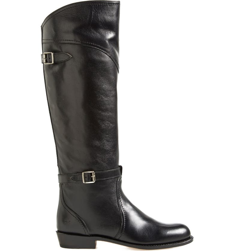 FRYE 'Dorado' Leather Riding Boot, Main, color, 001
