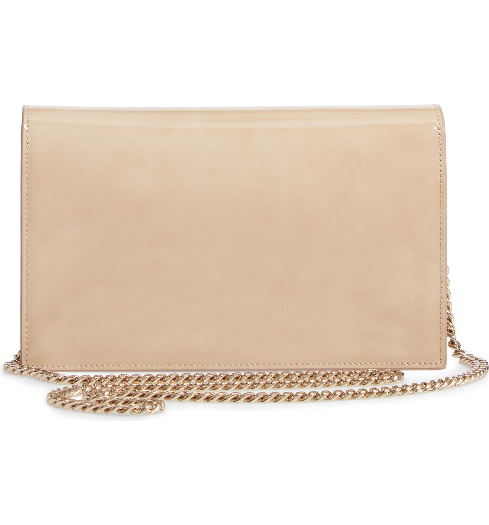 062fe9b788f Jimmy Choo Lizzie Patent Leather & Suede Clutch | Nordstrom