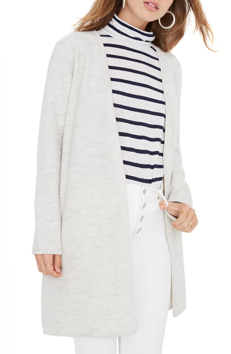 MADEWELL Lombard Sweater Coat, Main, color, 020