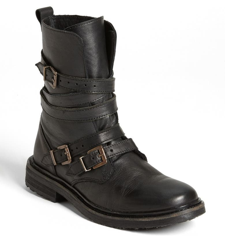 TOPSHOP 'Arrested' Boot, Main, color, 001