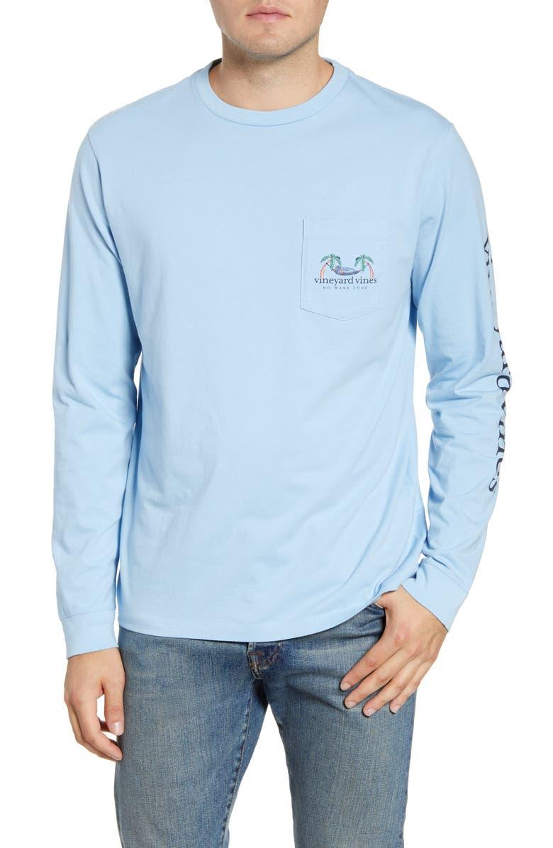 VINEYARD VINES No Wake Zone Long Sleeve T-Shirt, Main, color, 456