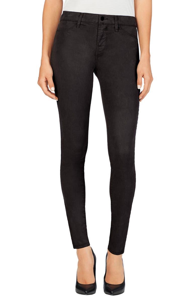 J BRAND High Waist Ankle Super Skinny Jeans, Main, color, 020