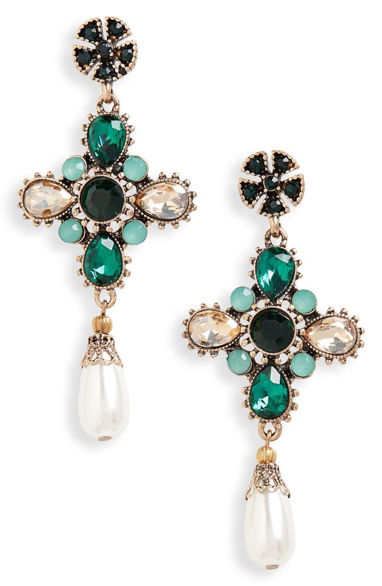 SHASHI Sydney Drop Earrings, Main, color, 300