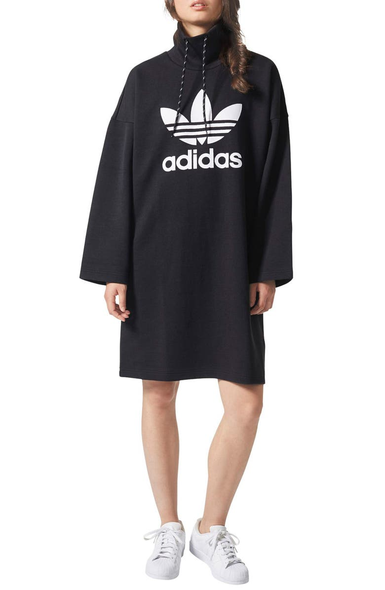 Originals by Pharrell Williams Hu Hiking Sweatshirt Dress