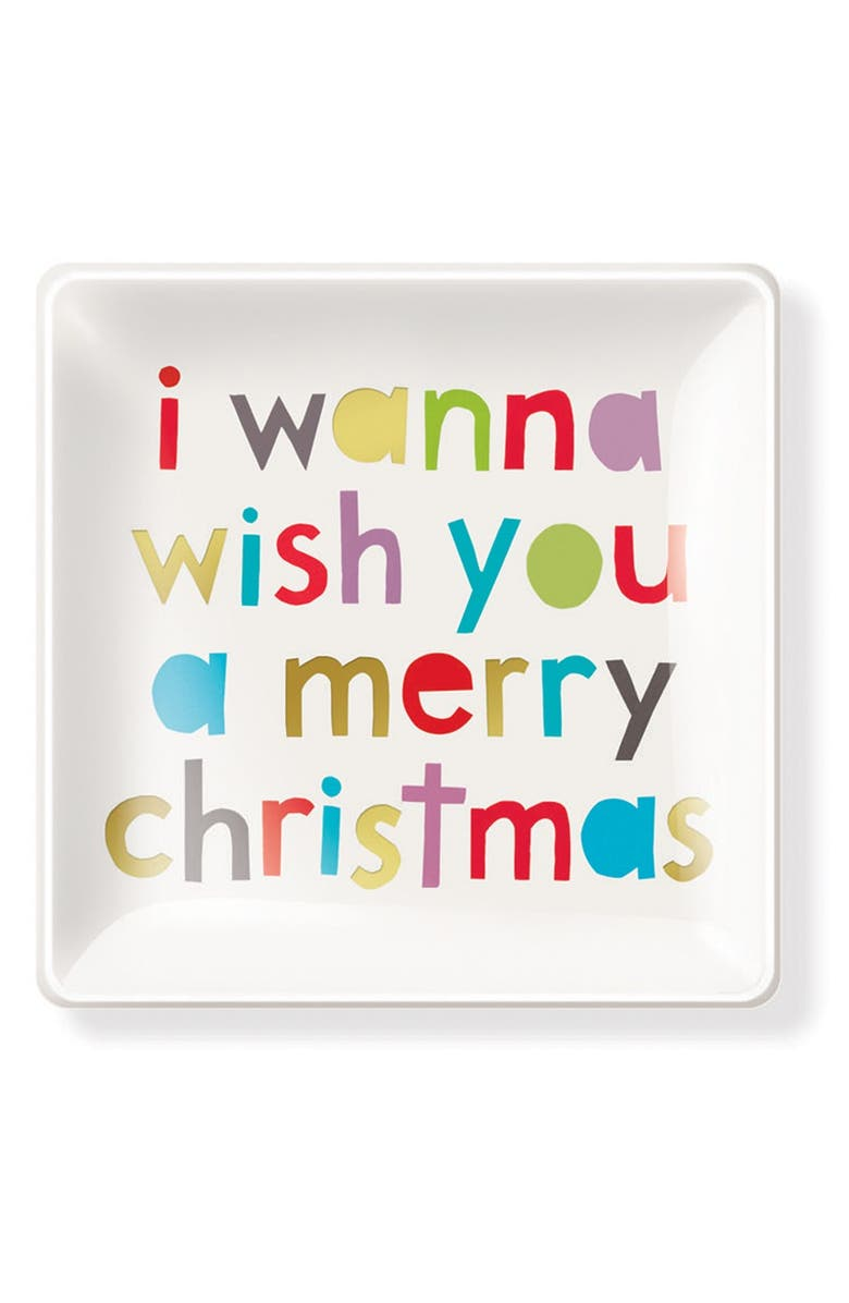 I Wanna Wish You A Merry Christmas.Fringe Studio I Wanna Wish You A Merry Christmas Glass
