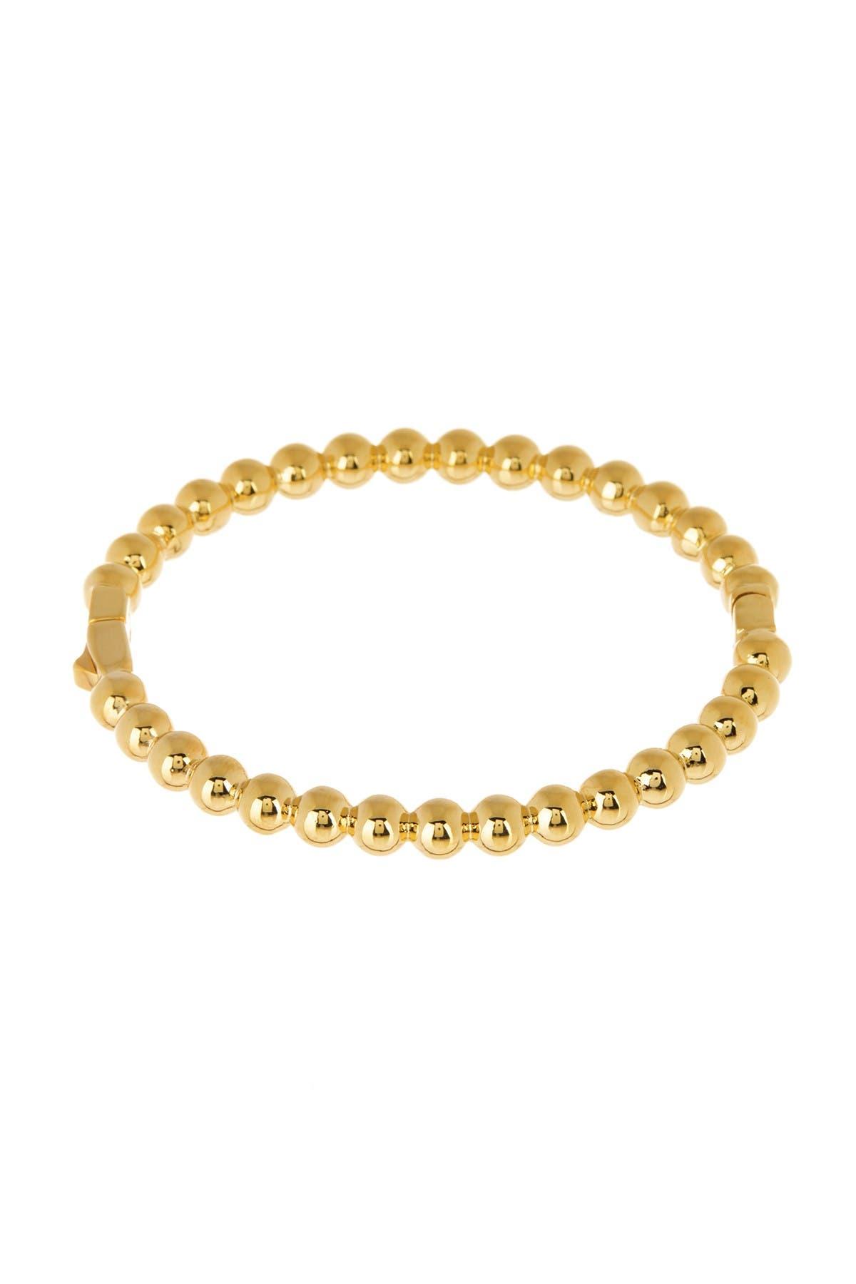 Image of kate spade new york golden girl hinge bracelet