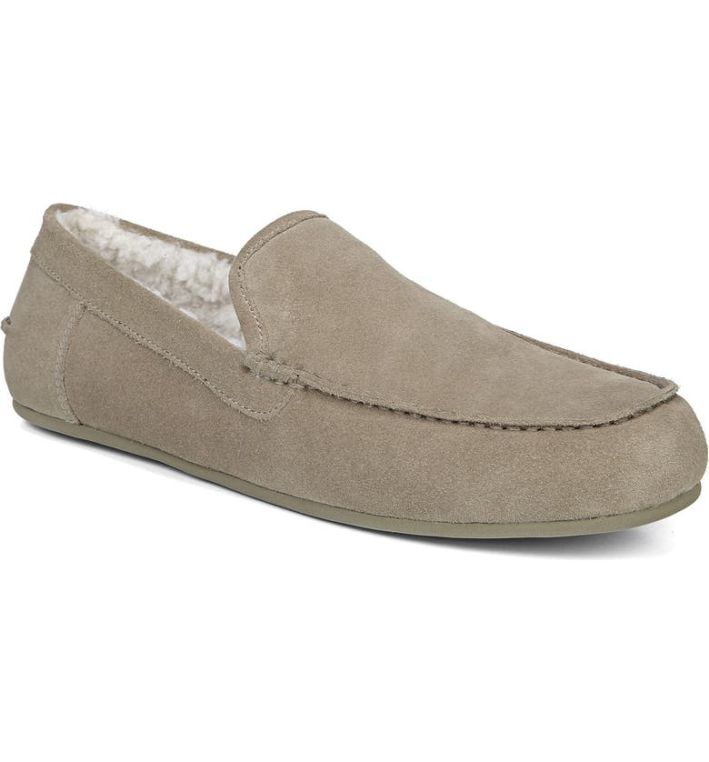 VINCE Gino Genuine Shearling Slipper, Main, color, NATURAL