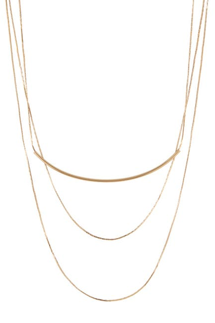 Image of Stephan & Co Triple Layer Delicate Necklace
