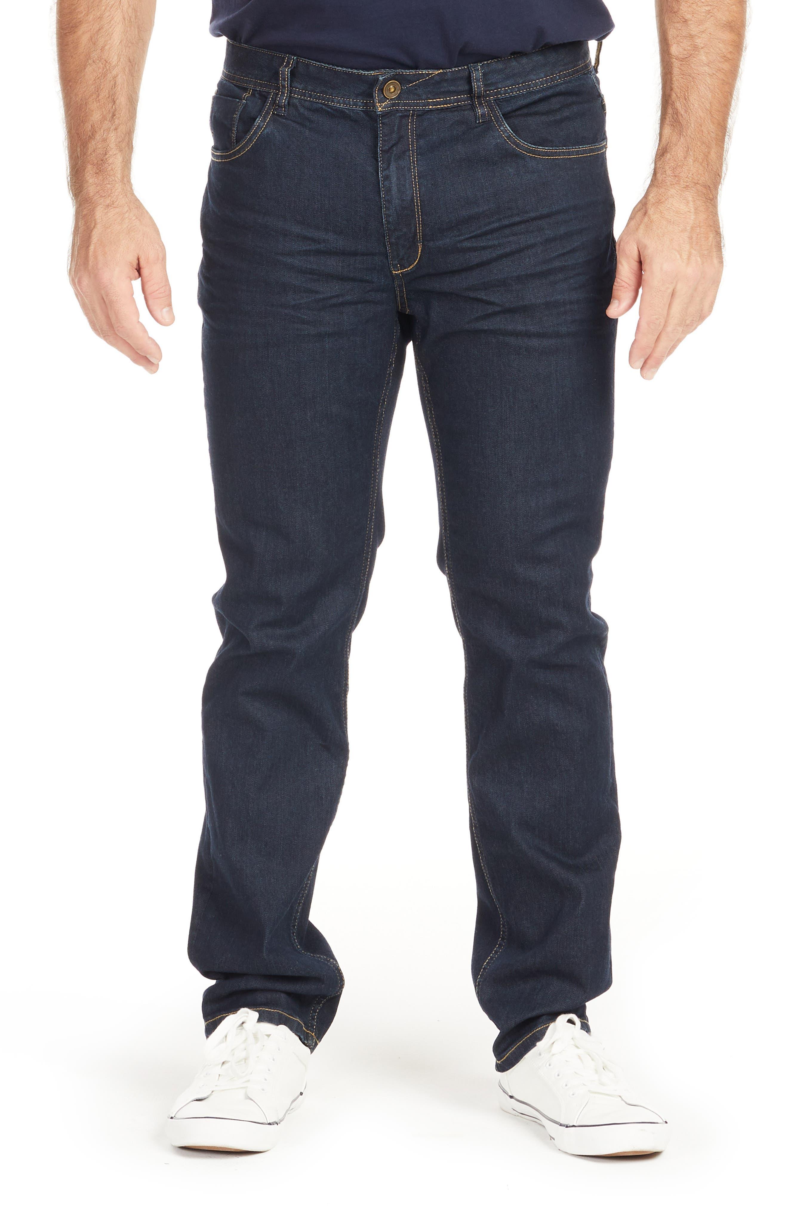 Easton Raw Slim Fit Jeans