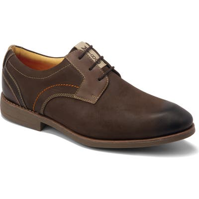 Sandro Moscoloni Mantel Plain Toe Derby, Brown