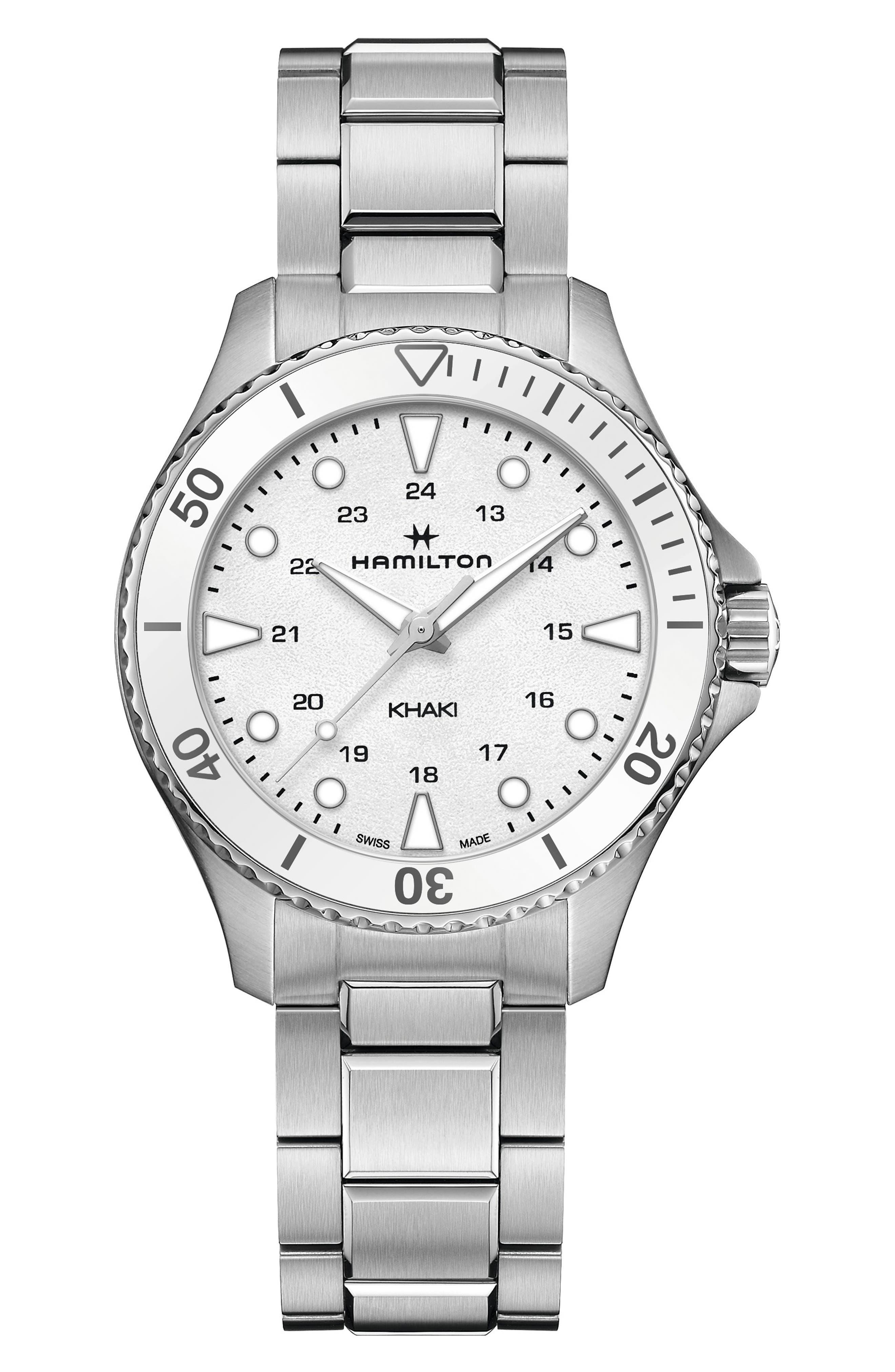 Khaki Navy Scuba Bracelet Watch