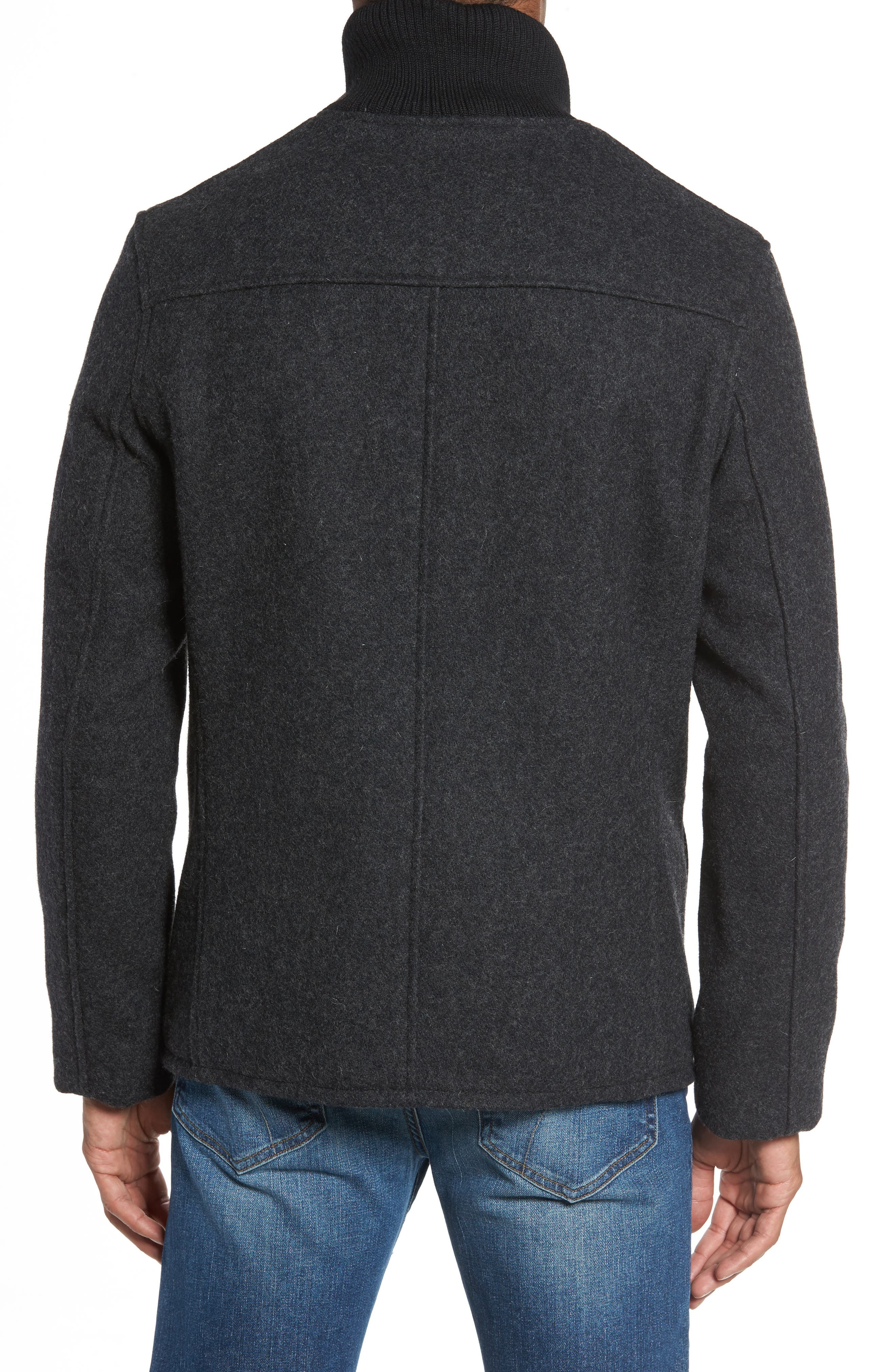 ,                             Wool Blend Field Jacket,                             Alternate thumbnail 2, color,                             022