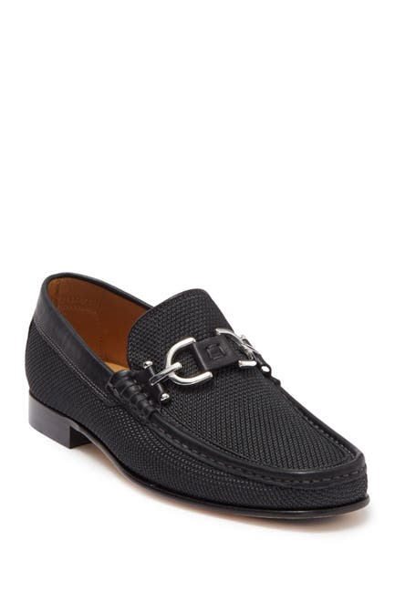 Image of Donald Pliner Dacio Leather Bit Loafer