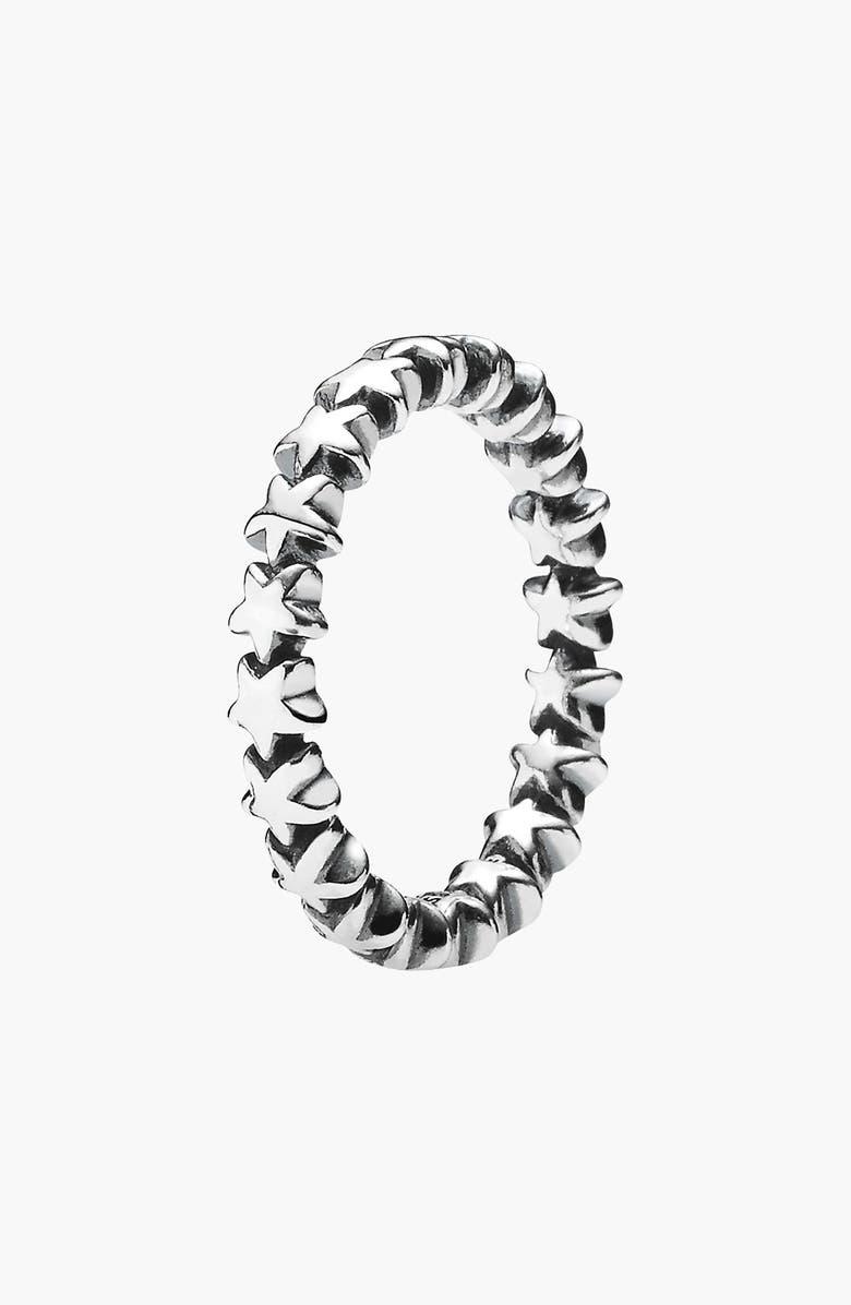 PANDORA 'Star Trail' Band Ring, Main, color, 040