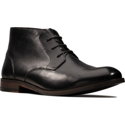 Clarks Flow Top Chukka Boot- Black