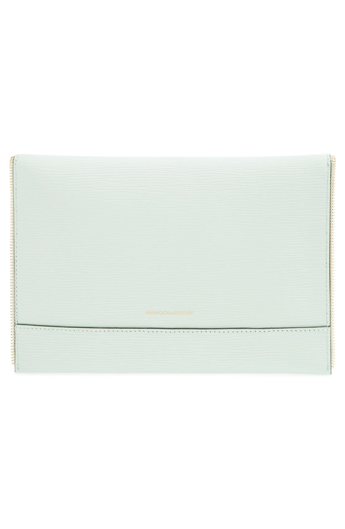 ,                             Leo Envelope Clutch,                             Alternate thumbnail 172, color,                             401