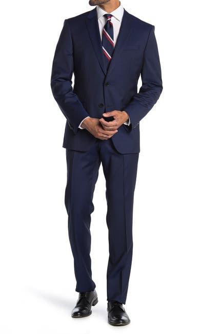 Image of BOSS Huge/Genius Wool Suit Regular Fit