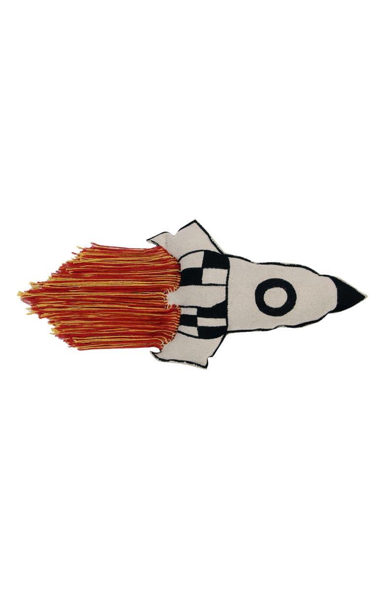 LORENA CANALS Rocket Cushion, Main, color, 800