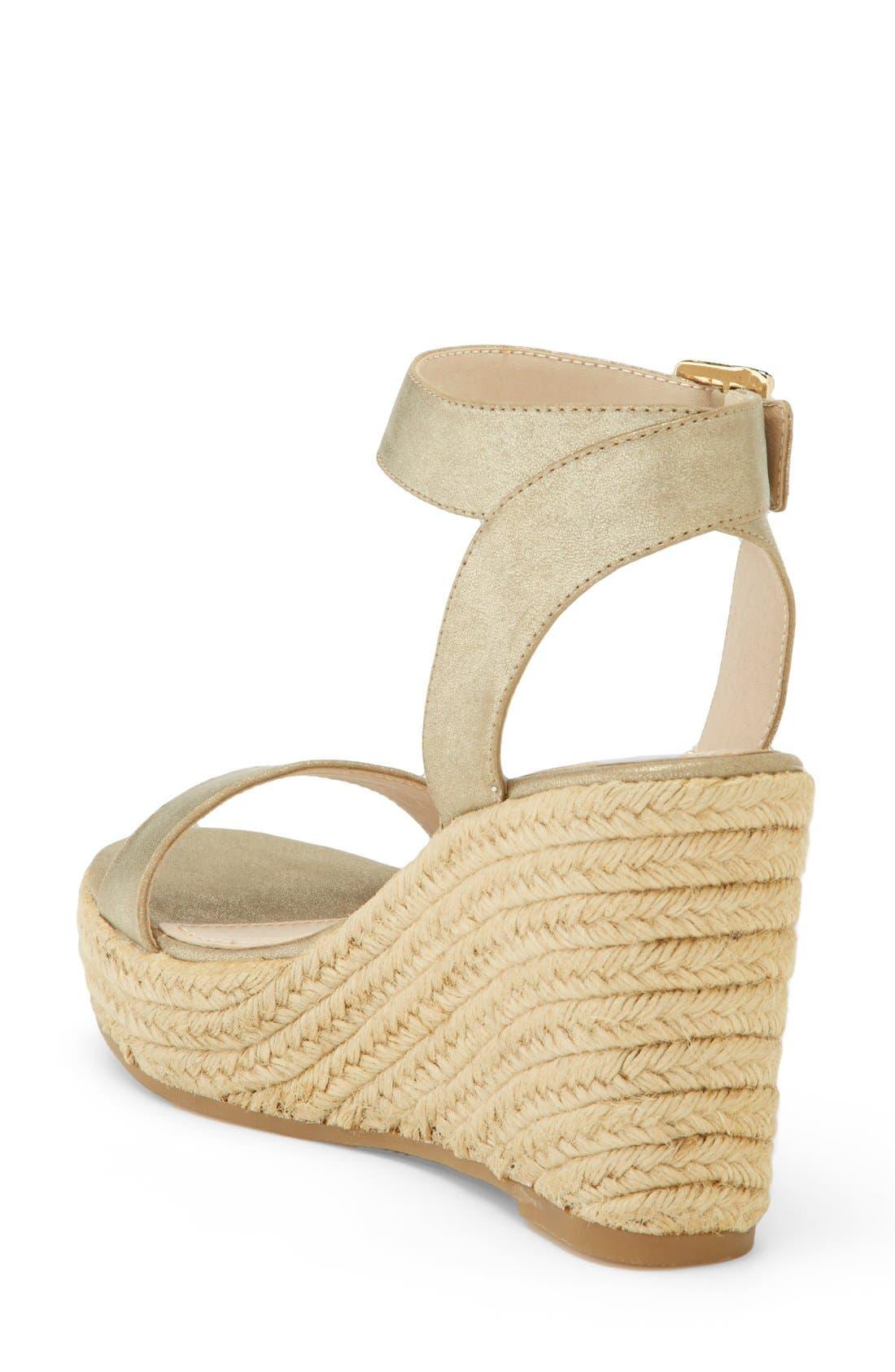 ,                             'Seaside' Wedge Sandal,                             Alternate thumbnail 18, color,                             710