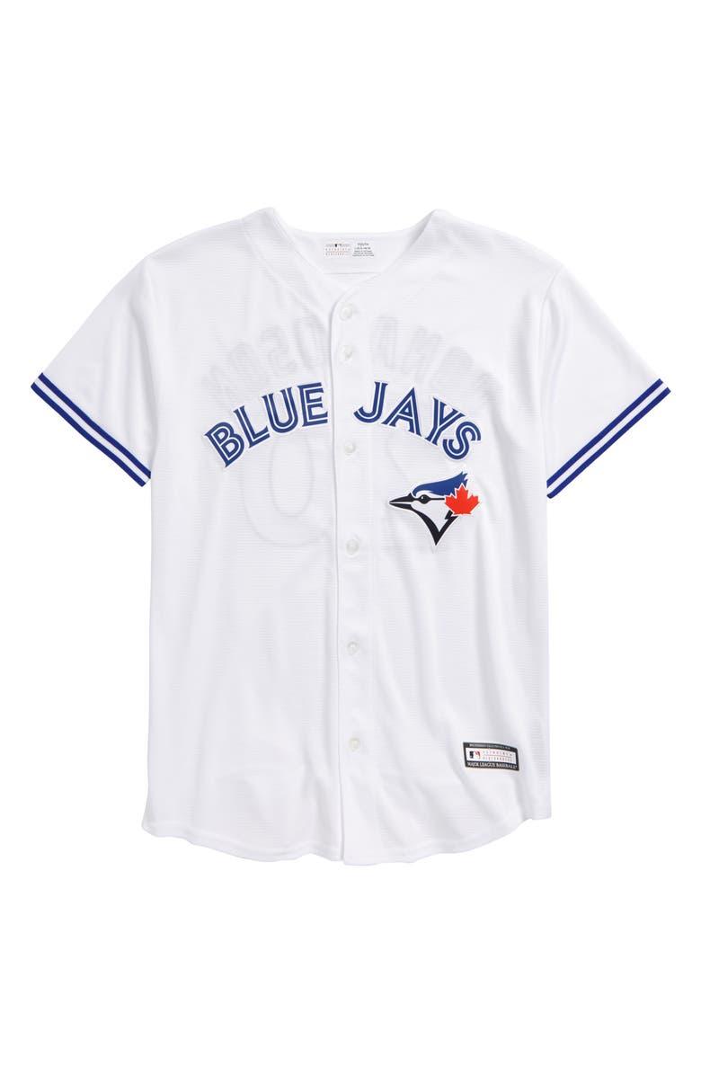 huge selection of 95405 32096 Majestic MLB Toronto Blue Jays - Josh Donaldson Baseball ...