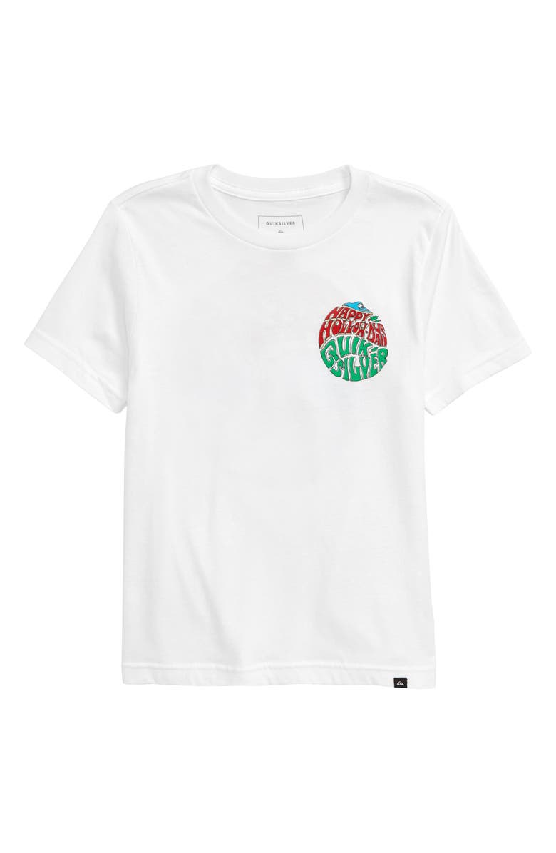 QUIKSILVER Happy Hollow Days Graphic T-Shirt, Main, color, 101