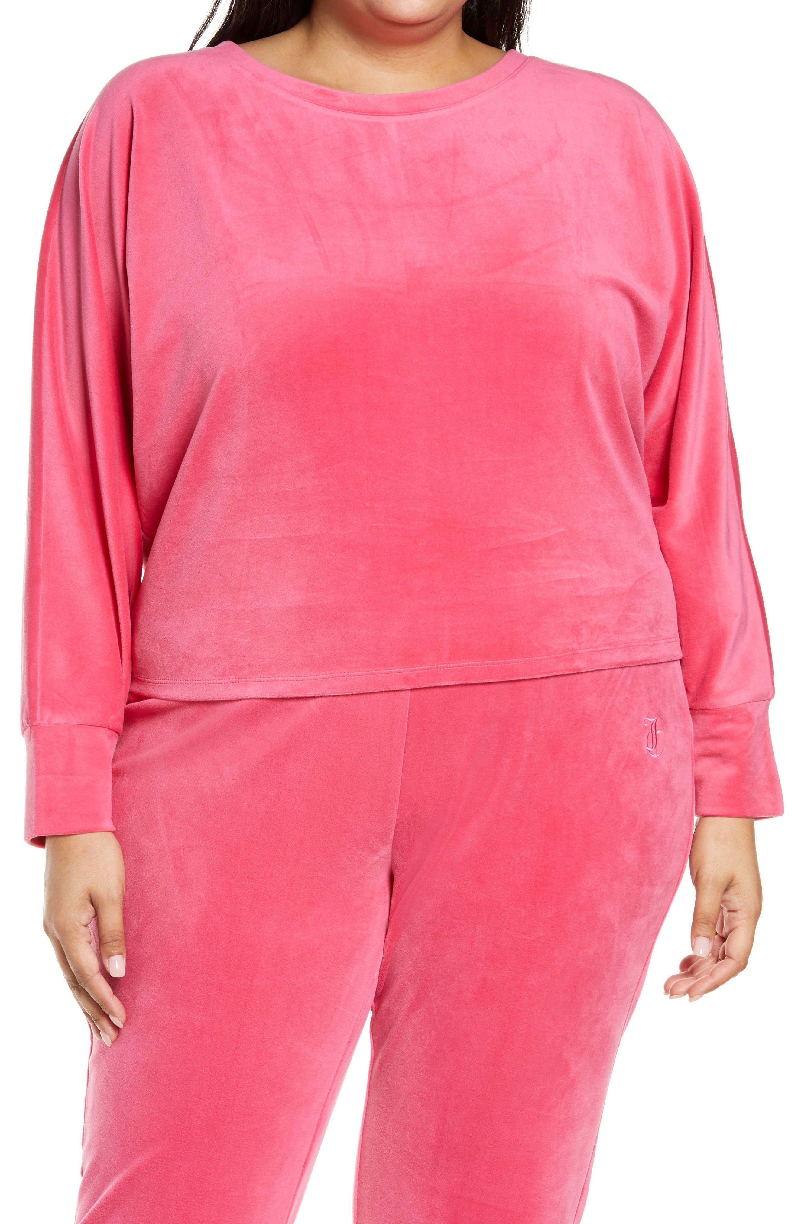 Women's Dolman Sleeve Velour Sweatshirt