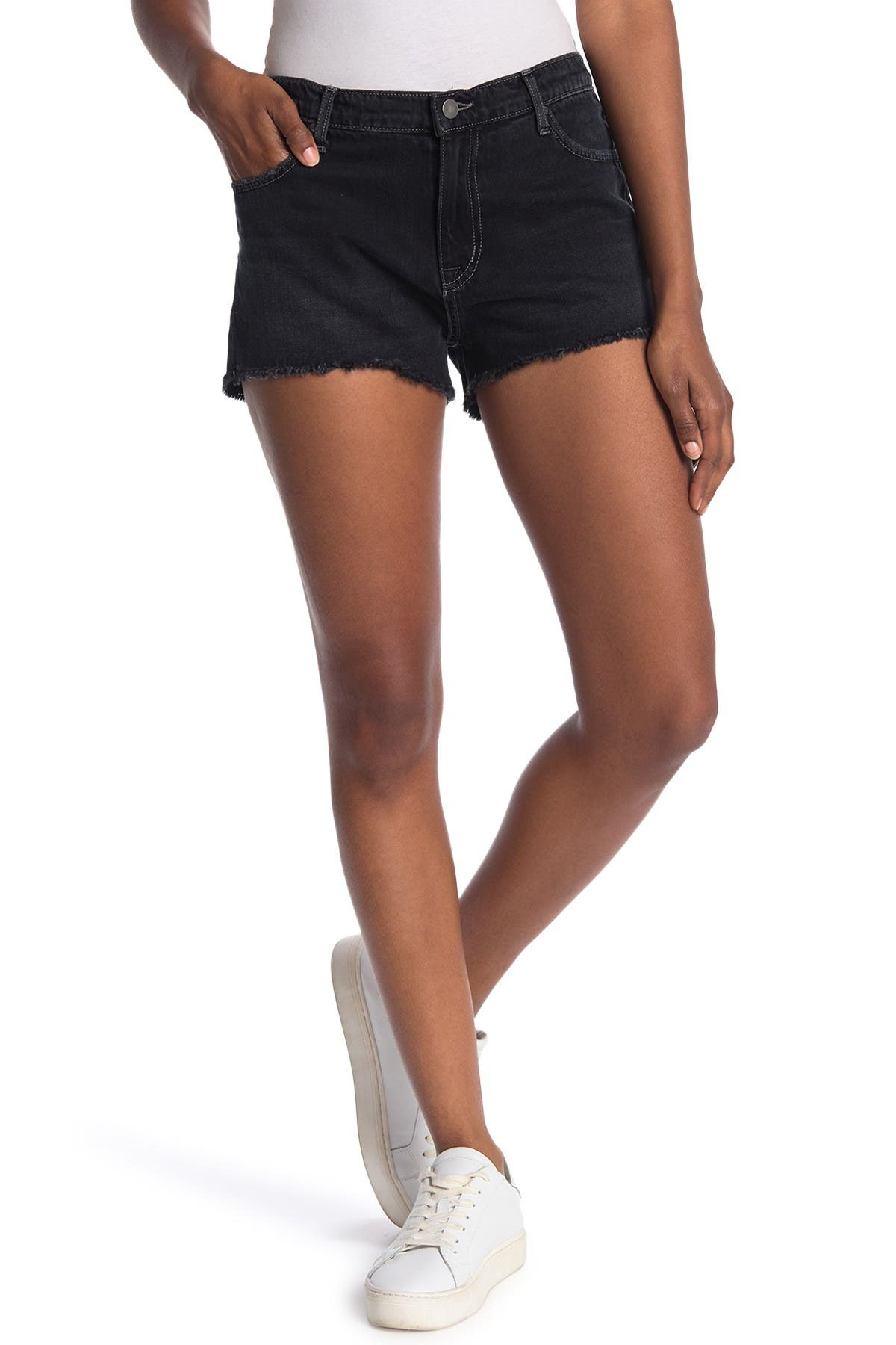 Image of FIDELITY DENIM Taylor Cutoff Frayed Shorts