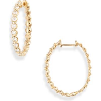 Bony Levy Monaco Diamond Hoop Earrings (Nordstrom Exclusive)