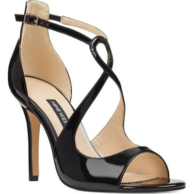 Nine West Giaa Strappy Sandal, Black