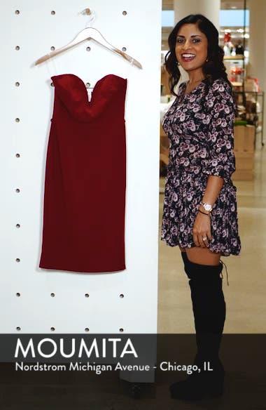 Strapless Sheath Dress, sales video thumbnail