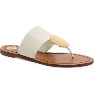 Tory Burch Patos Sandal- Ivory
