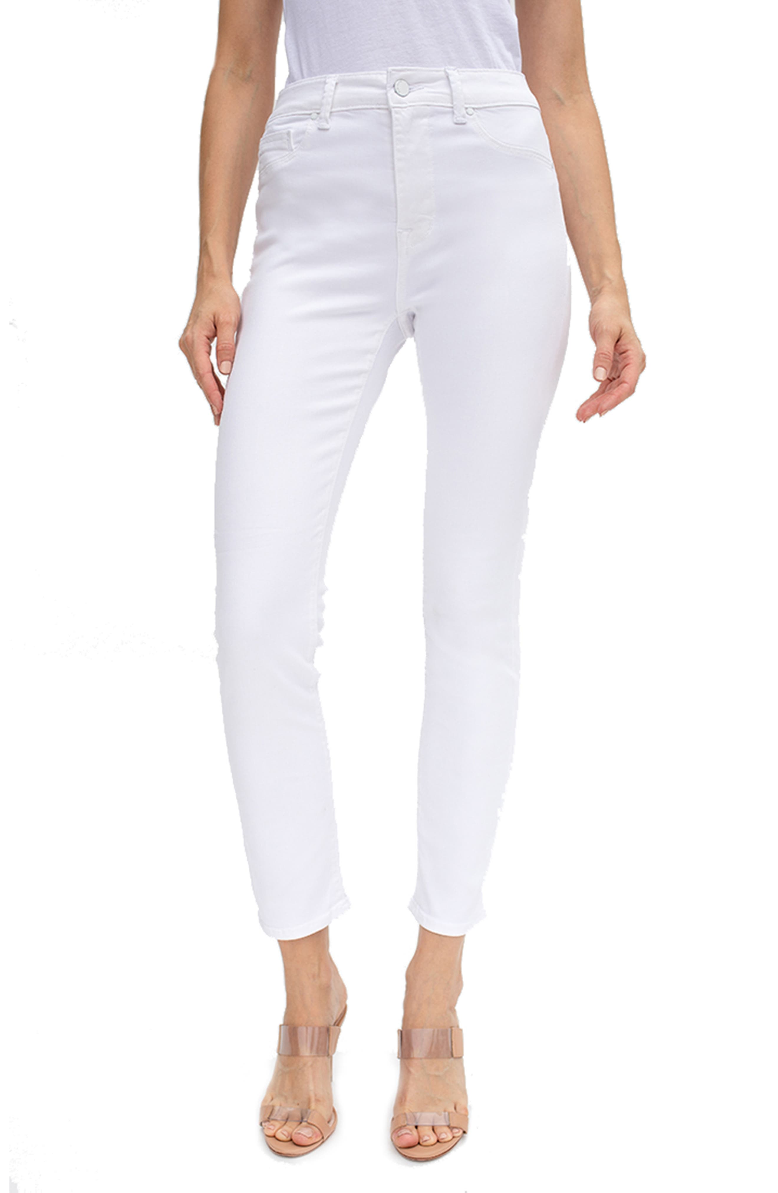 Gwen High Waist Ankle Skinny Jeans
