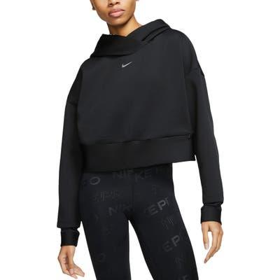 Nike Pro Fleece Pullover Hoodie, Black