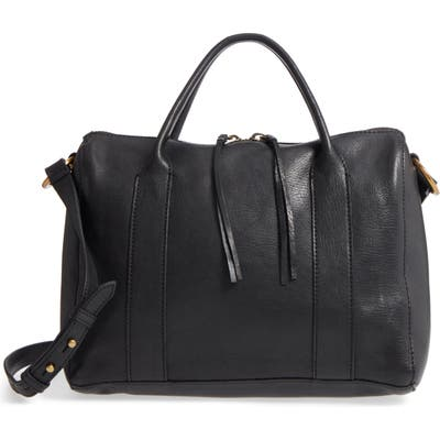 Madewell O-Ring Leather Satchel - Black