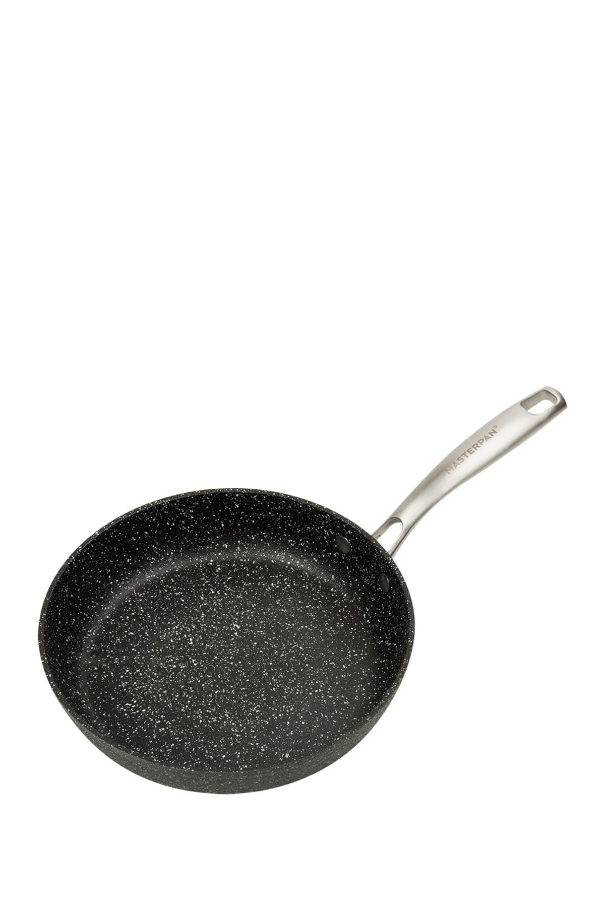 "Image of MASTERPAN Black Granite Ultra Non-Stick Cast Aluminum 9.5"" Fry Pan"