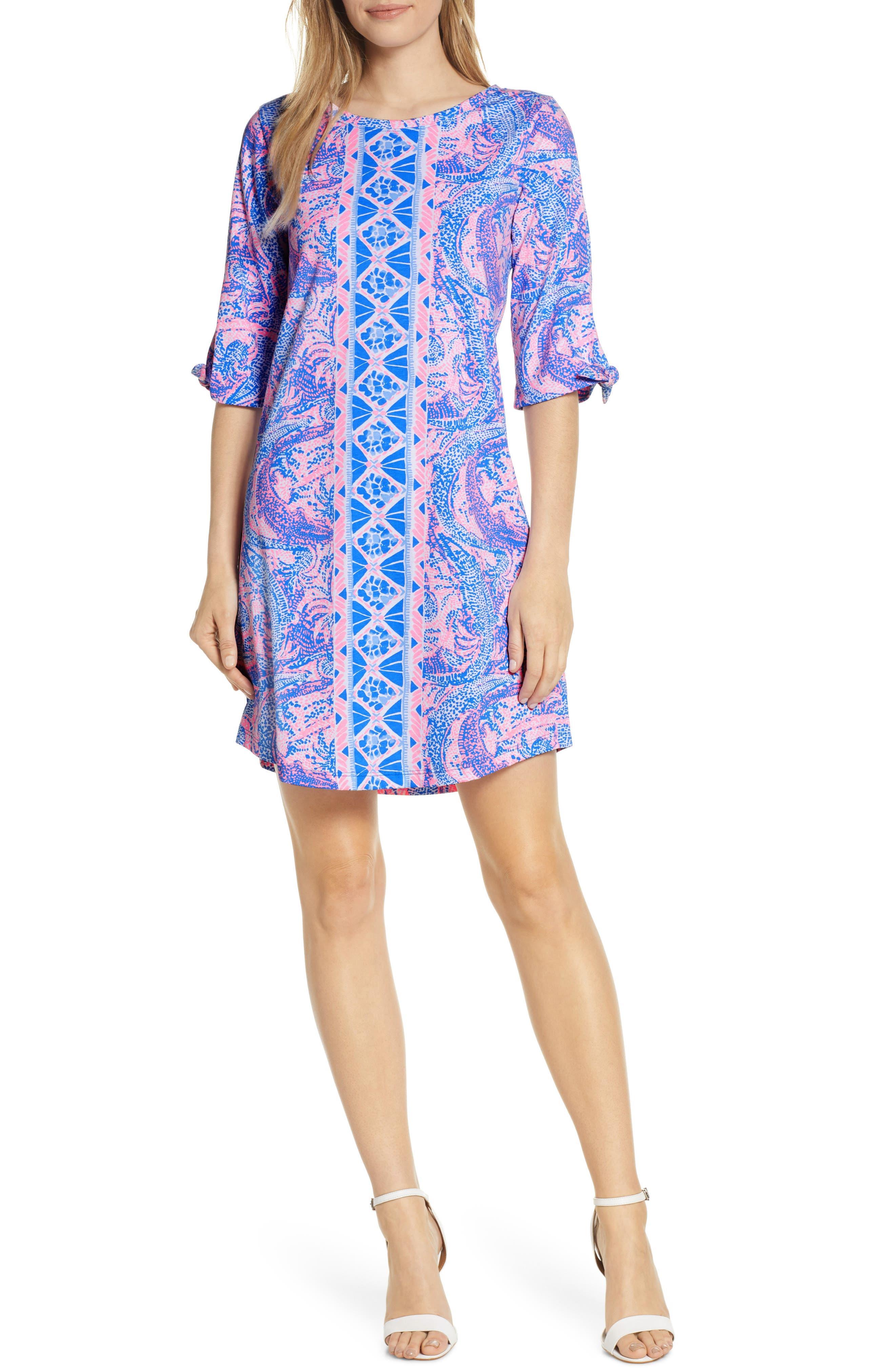 Lilly Pulitzer Preston Shift Dress, Blue