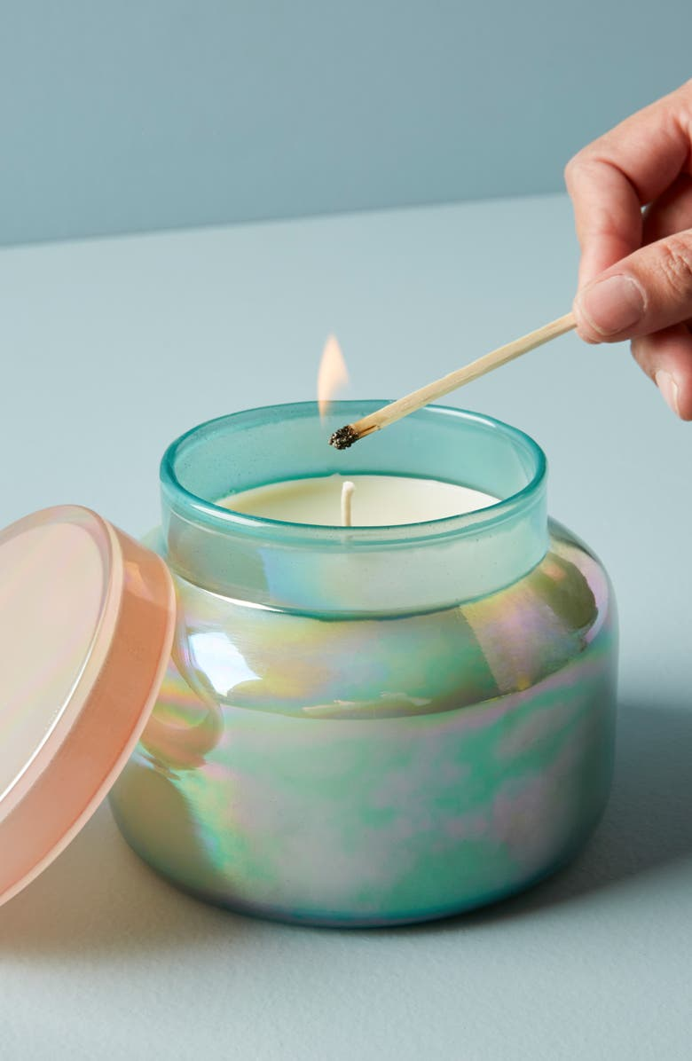Iridescent Volcano Candle, Main, color, VOLCANO