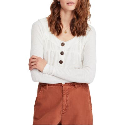 Free People Must Have Henley, Ivory
