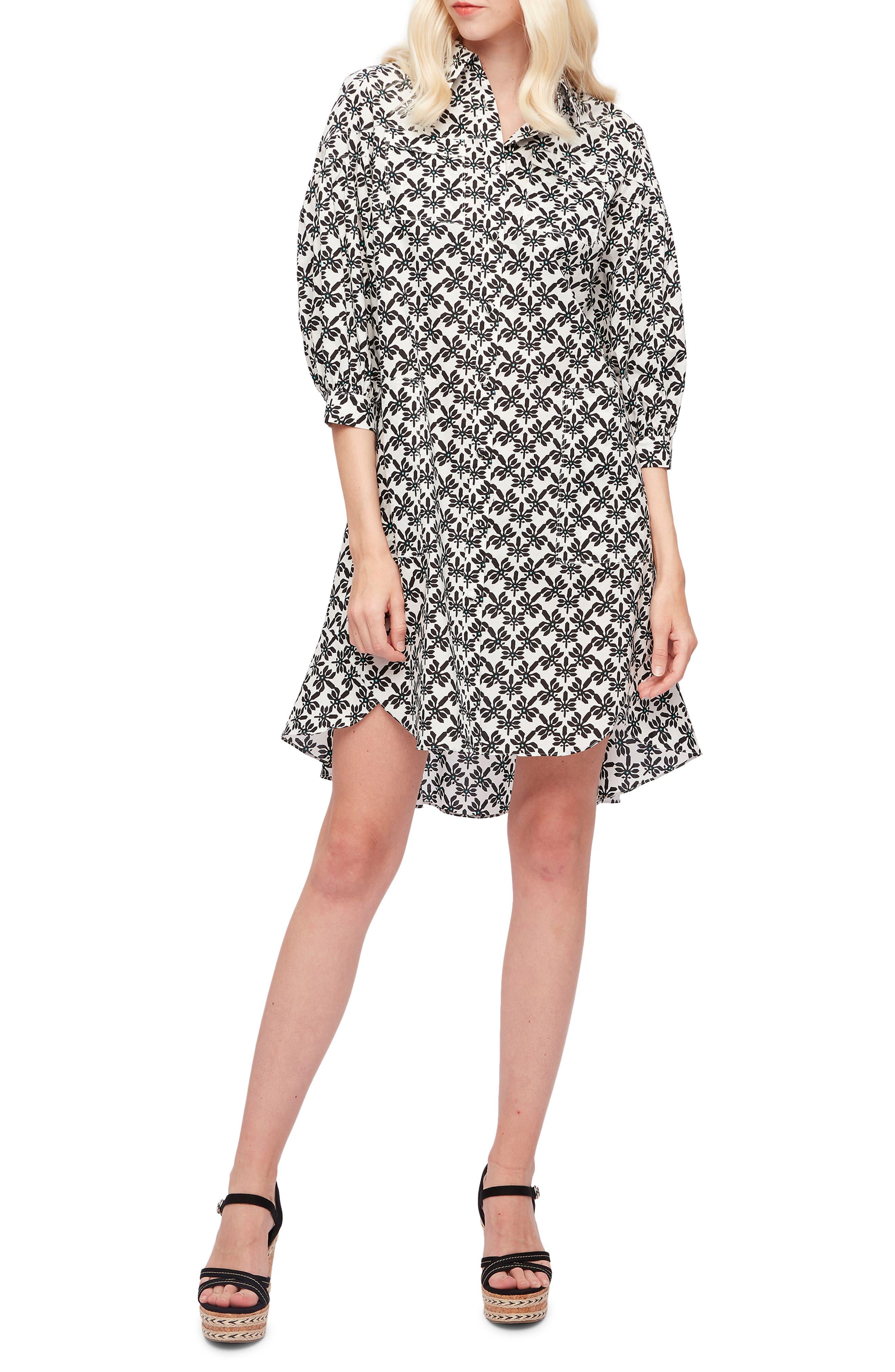 Paige Print Shirtdress